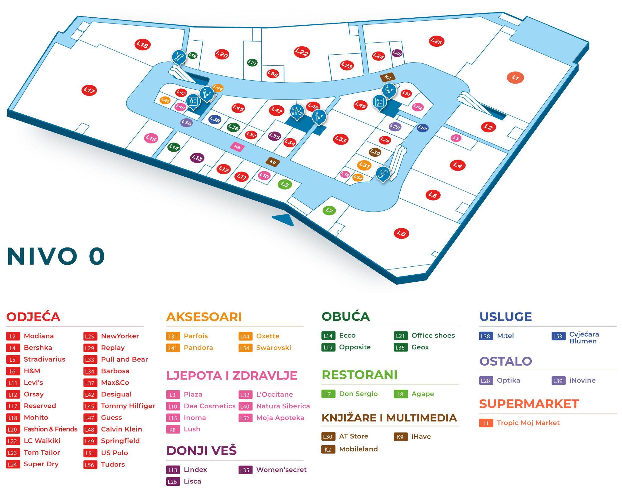 Floor Plans Delta Planet Banja Luka