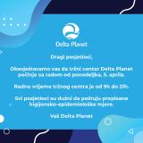 otvaranje, delta planet, radno vrijeme, soping