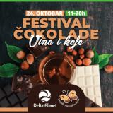 Festival cokolade, kafe i vina Delta Planet