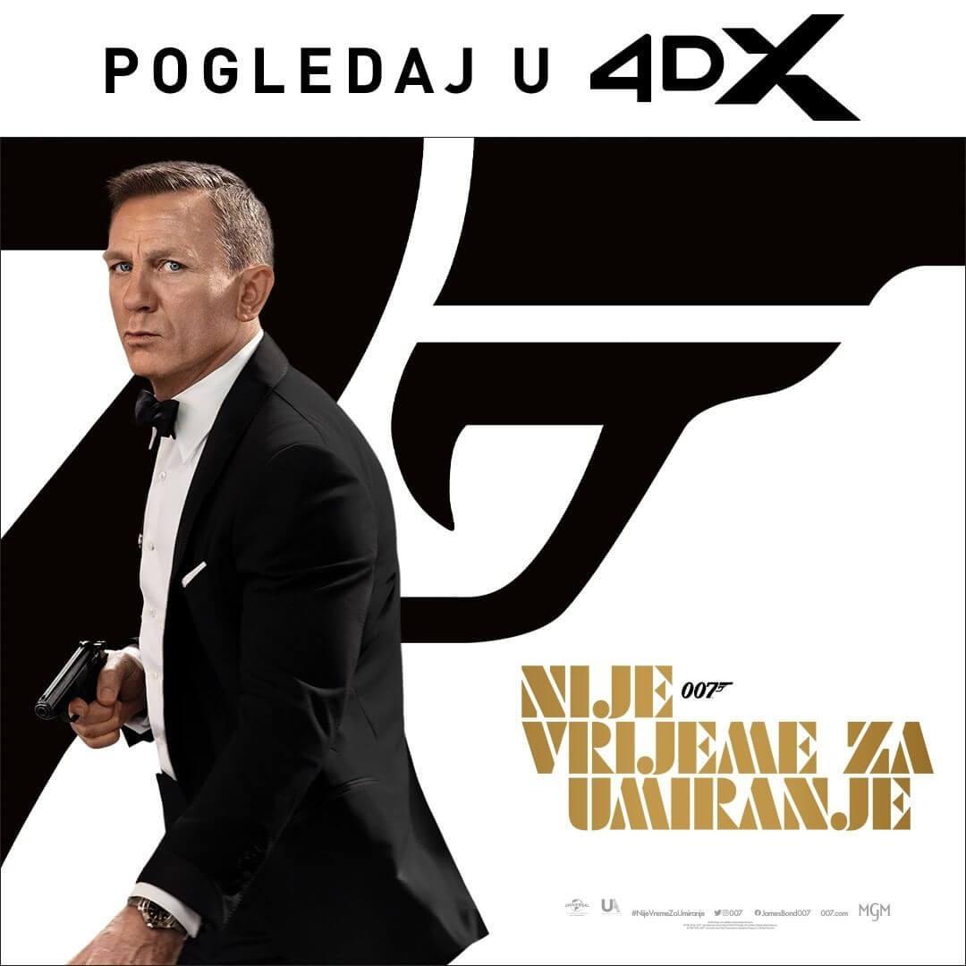 James Bond, dzejms bond, kino, bioskop, nije vrijeme za umiranje