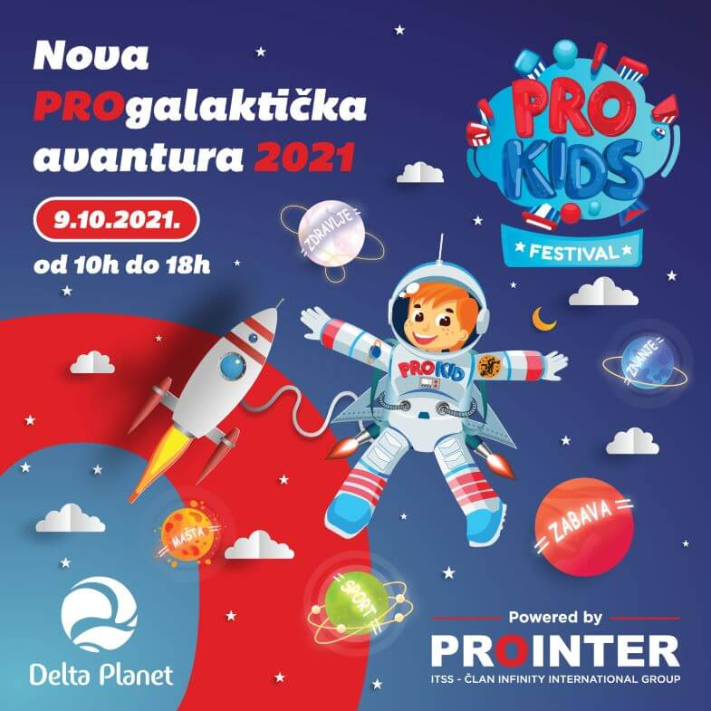 ProKids festival Delta Planet Banja Luka